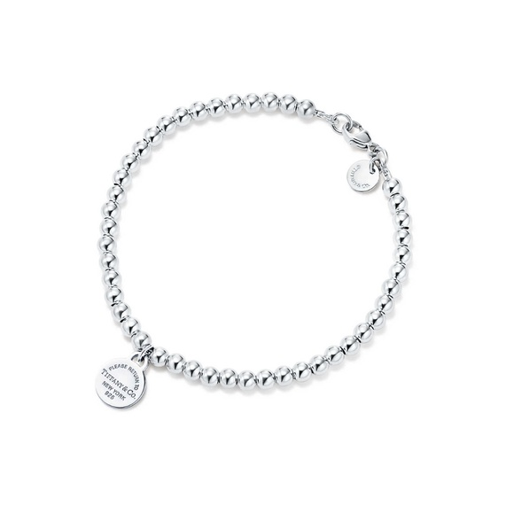 Tiffany & Co. Circle Bead Bracelet — Silver